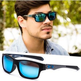 Oculos Solar Masculino Polarizado Preto Ox23 Haste Carbono
