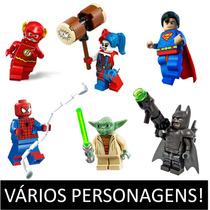 Minifigura Lego Compatível Liga Justiça Vingadores X-men Av1