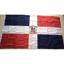 Bandera De República Dominicana 90x150cm. Banderas Del Mundo