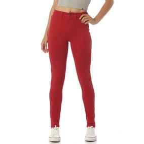 Calça Jeans Feminina Skinny Média Colorida Denim Zero-dz2391