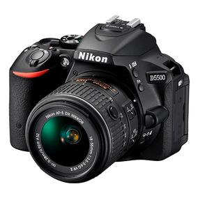 Cámara Nikon D5500 Kit 18-55mm Vr 24,2 Mp Full Hd Alclick