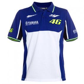 Camisa Polo Blusa Valentino Rossi 46 Azul - Pronta Entrega