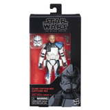 Figura Clone Capitán Rex 6 Pulgadas The Black Series Star Wa
