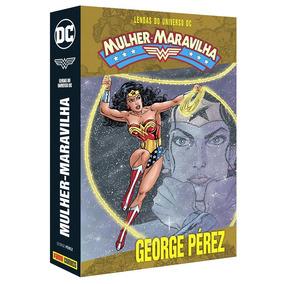 Caixa (box) Para Lendas Mulher Maravilha | George Pérez