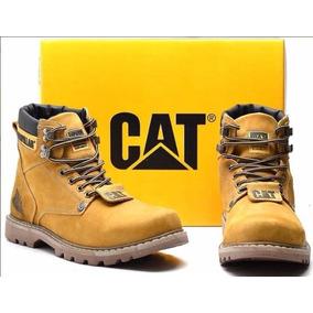 Bota Coturno Cat Caterpillar Couro Original Promoção