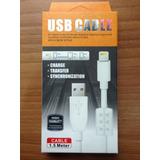 Cable Iphone 5 6 7 Com Regulador Mayor Y Detal