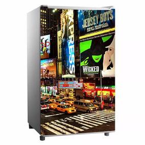 Adesivo Para Frigobar Times Square Ny