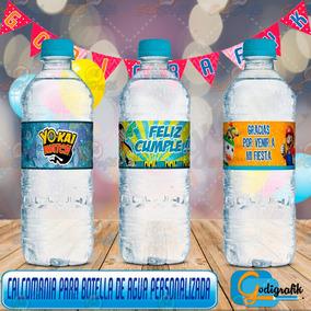 Etiquetas Personalizadas Para Botellas De Agua
