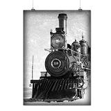 Tren Cuadro Retro Vintage Edad Mate / Brillante Cartel A2 (