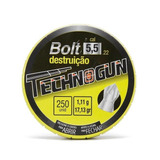 Chumbinho Technogun Bolt Destruição 5.5mm - 250 Unidades