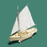Kit Para Armar Barco Pesquero Madera 1:30