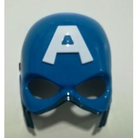 Mascara Led Superheroes Capitan America Regalo Disfraz