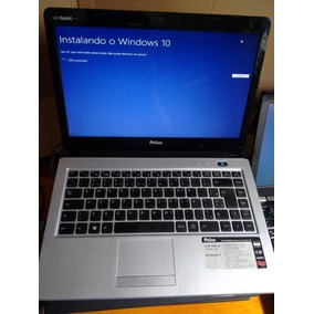 Notebook Philco Dual 4 Gb Ram Hd 500 Gb Windows 10 Branco Am