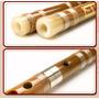 Flauta Chinesa De Bambu Dizi Repartida Afinação Do (key C)