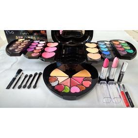 Maleta Maquiagem 4d Kit Profissional Completo Estojo T&g
