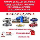 Manuales De Taller Y Propietario De Chevrolet Corsa Genuine