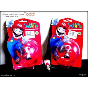 Vendo Juguete Figura Coleccionable Toad De Mario Bros Nuevo