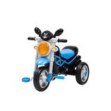 Paseador Bebe Triciclo Moto Trike Azul