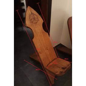 Cadeira Estilo Viking Feita Artesanalmente - Pinus