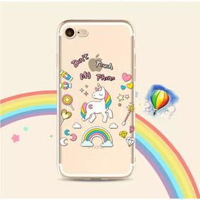 Funda Unicornio Silicon Iphone 5, 5s, 6s, 6s Plus, 7, 7 Plus