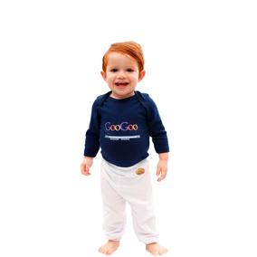 Kit 2 Peças Body Bebê + Calça Googoo Dada 100%algodão Menino