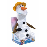 Frozen Peluche Olaf Cantante Singing Disney - 100% Original
