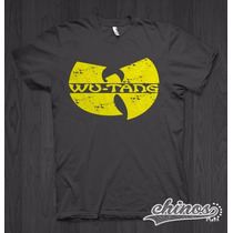 Playera Wu-tang , Wu Tang Clan, Rap, * Chinos*