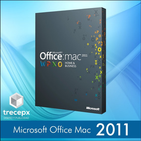 Office 2011 Home & Business Original 1 Equipo Mac Os Sierra