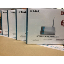 Roteador Wireless Dlink Di-524 150mbps Com Nota Fiscal