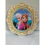 Placa Frozen Festa Infantil Parede, Centro Mesa Frozen