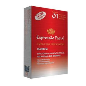Kit 3 Henna Sobrancelhas 2,5g Expressão Facial Escolha A Cor