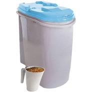 Porta Ração Dispenser Home Plast Pet 25l Com Concha Medidora