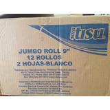 Jumbo Roll 9 Doble Hoja Sani Tisu 12x250 Metros