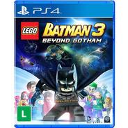 Jogo Lego Batman 3: Beyond Gotham - Ps4 Nf Capa Azul