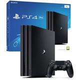 Consola Playstation 4 Ps4 Pro 1tb 4k Garantía - Inetshop