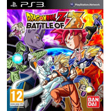 Dragon Ball Z Battle Of Z + J-stars Victory Vs Ps3