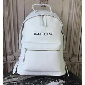 B A L E N C I A G A - Bolsa Mala Mochila Balenciaga Couro
