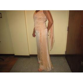 Vestido Madrina Yclutch Original Jorge Ibañez