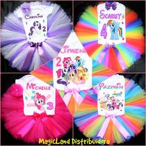 Tutus Personalizados Disfraz My Little Ponny Envío Gratis!!!