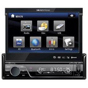 Estereo Soundstream Vir7830 7-inch Flip-up Touch Screen