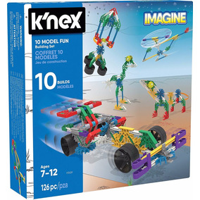 Knex Juego De Construccion Imagine 10 Modelos Posibles