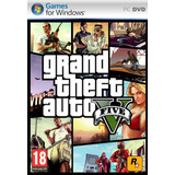 Grand Theft Auto V (5)- Pc Físico - 14 Dvd´s - Envío Gratis