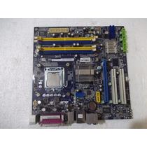 Kit Placa Mãe Foxconn G33m Ddr2 Pcie 775 Pentium E2200 Sata