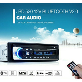 Auto Estereo Digital Led. Mp3 Bluetooth Usb Sd Manos Libres