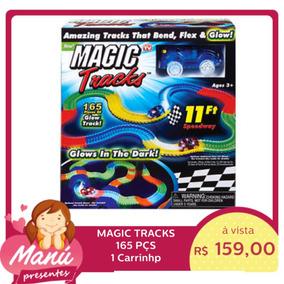 Magic Tracks Pista Carrinho Led 165 Pçs 1 Car * Frete Grátis