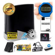 Kit Motor Portão Eletrônico Ppa Deslizante Dz 1/4 + Tx Car