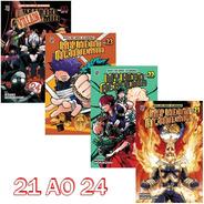 My Hero Academia 21 Ao 24! Mangá Jbc! Novo E Lacrado!