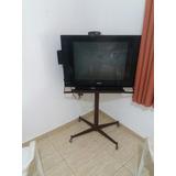 Tv Phillips 29 Tela Plana Com Suporte Conversor Digital Usb