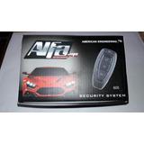 Alarma Para Auto Marca Alfa + 2 Actuadores Para Seguros Elec
