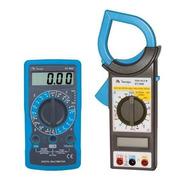 Kit Alicate Amperímetro Et-3200 + Multímetro Et-1002 Minipa